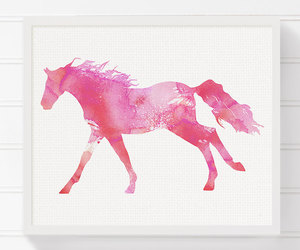 art, equestrian, and horse image