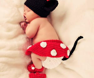 baby, cute, and minnie image