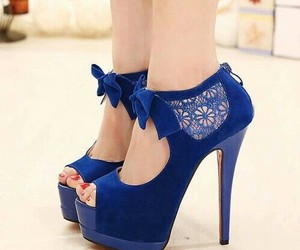 shoes and blue image