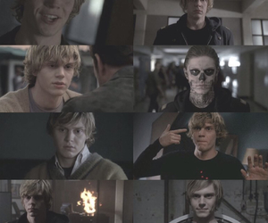 actor, tate, and evan peters image