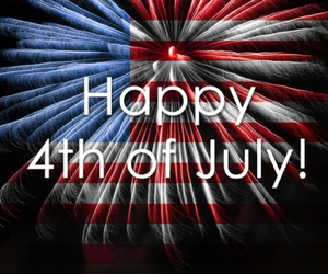 america, american flag, and fireworks image
