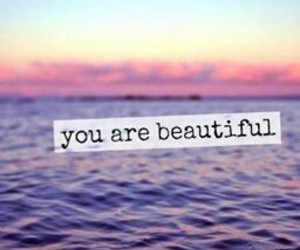 beautiful, sea, and quote image