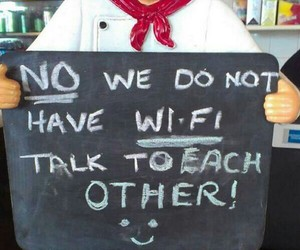 wifi, funny, and quote image