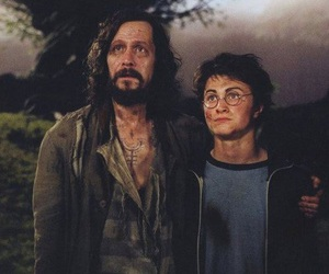 harry potter, sirius black, and hogwarts image
