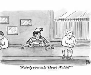 wally, Waldo, and funny image