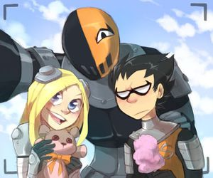 lol, terra, and teen titans go! image