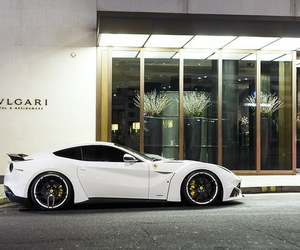 car, white, and bvlgari image