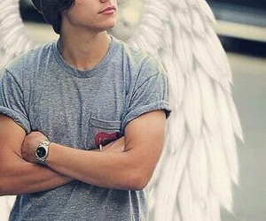 angel, Harry Styles, and cielo image