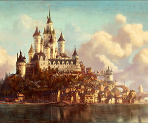castle, Dream, and disney image