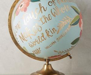 globe and world image