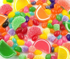 candy, sweet, and gomitas image