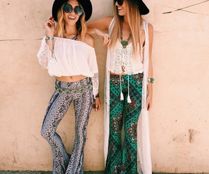 boho, fashion, and summer image