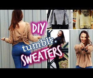 diy, sweaters, and tumblr image