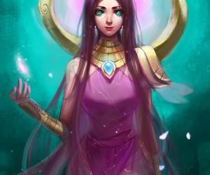 karma, league of legends, and lol image