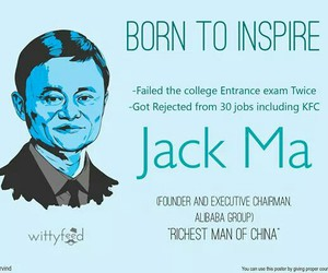 inspiring, jack ma, and born to inspire image
