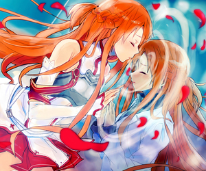 asuna, sao, and sword art online image