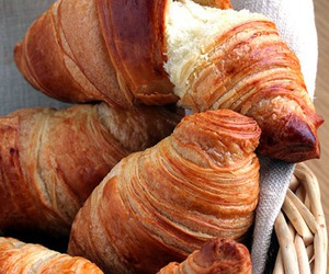 croissant, croissants, and yummy image