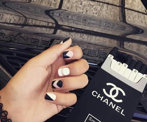 aesthetic, model, and nail art image