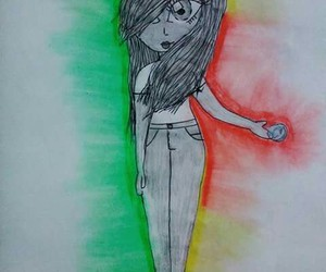 rasta, rasta girl, and ojitos image