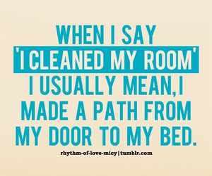 funny, quote, and room image