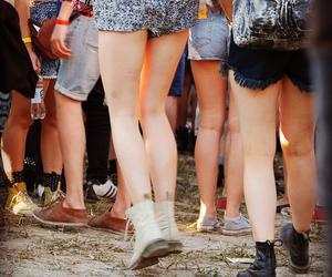 fashion, festival, and jump image