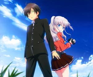 anime and charlotte image