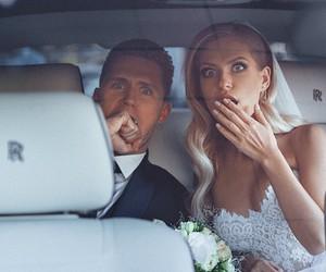wedding, wedding dress, and wedding photo image