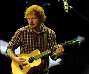 beautiful and ed sheeran image