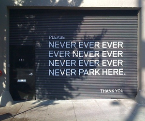 funny, never, and park image