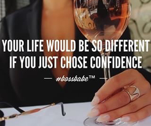 quote, boss, and confidence image