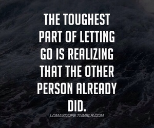 quote, let go, and letting go image