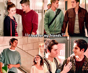 teen wolf, friends, and scott mccall image