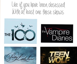 shows, the vampire diaries, and pll image