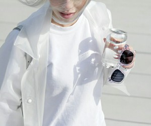 fashion, white, and pale image