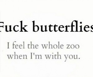 butterflies, you, and WITH image