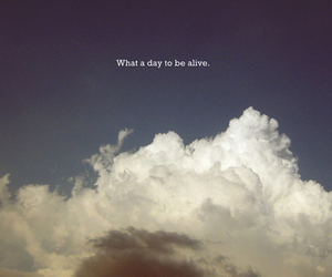 clouds, sky, and alive image