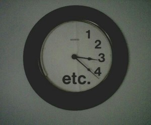 clock, etc, and grunge image