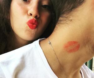 boyfriend, girl, and kiss image