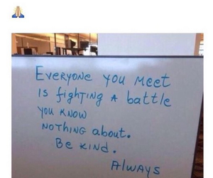 be kind and quote image
