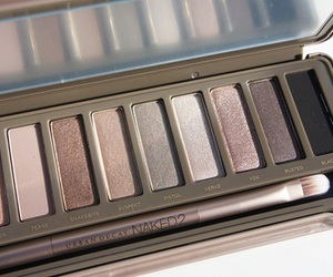 makeup, naked, and urban decay image