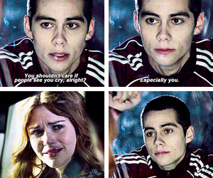 teen wolf, stydia, and stiles image
