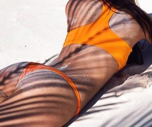 bikini, body, and model image