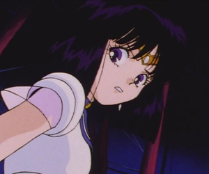 anime, sailor saturn, and aesthetic image