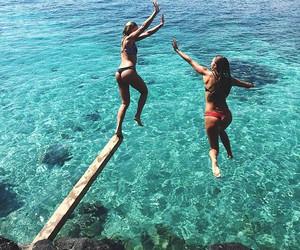 summer, fun, and girls image