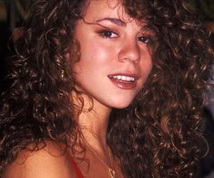 90s, beautiful, and Mariah Carey image