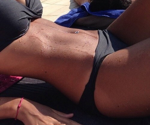 body, fit, and tanned image