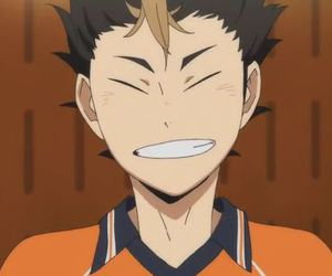 anime, cool, and smile image