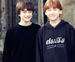 harry potter, rupert grint, and daniel radcliffe image