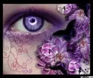 Collage, steampunk, and purple image