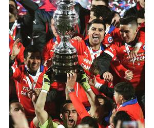 chile, campeon, and copa america image